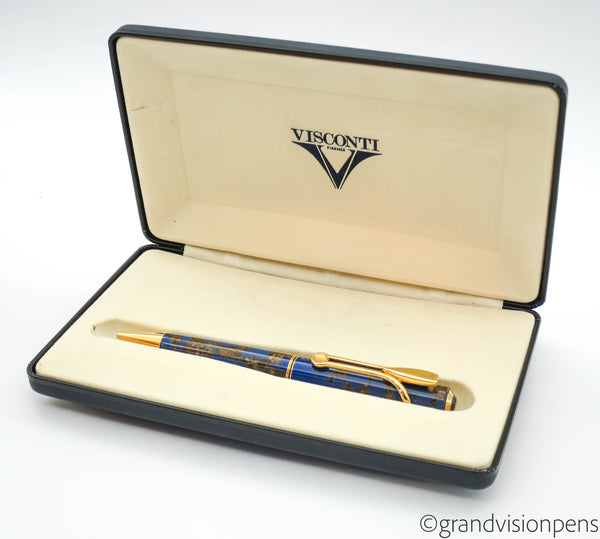 Boxed Visconti Titanic Celluloid Rollerball Pen - Grand Vision Pens UK