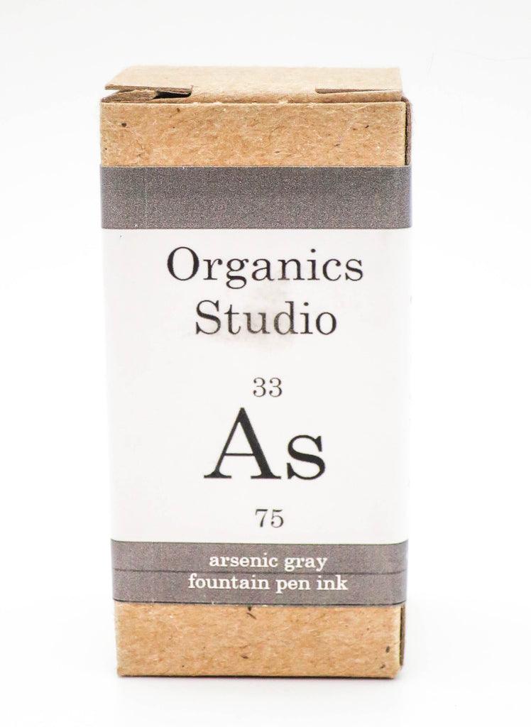 Organics Studio Ink: Elements Series - Arsenic Grey - Grand Vision Pens UK