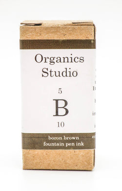 Organics Studio Ink: Elements Series - Boron Brown