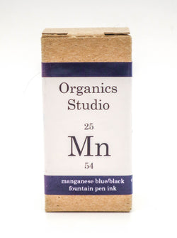 Organics Studio Ink: Elements Series - Manganese Blue / Black