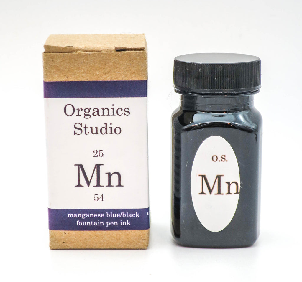Organics Studio Ink: Elements Series - Manganese Blue / Black - Grand Vision Pens UK