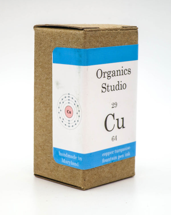 Organics Studio Ink: Elements Series - Copper Turquoise - Grand Vision Pens UK