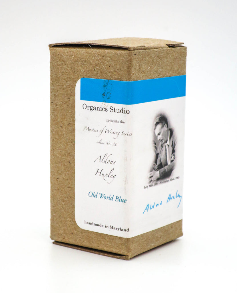 Organics Studio Ink: Master's of Writing Series - Aldous Huxley Old World Blue