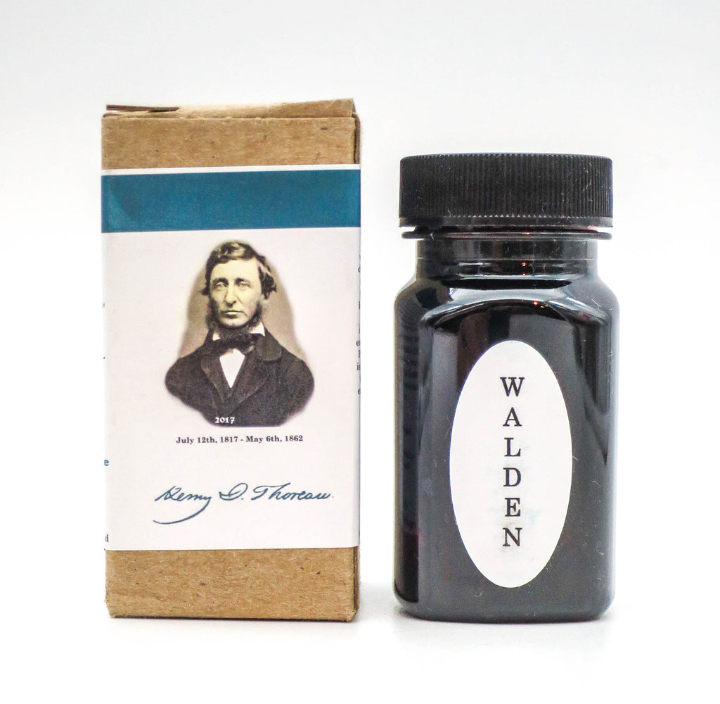 Organics Studio Ink: Master's of Writing Series: Henry David Thoreau Walden Pond Blue