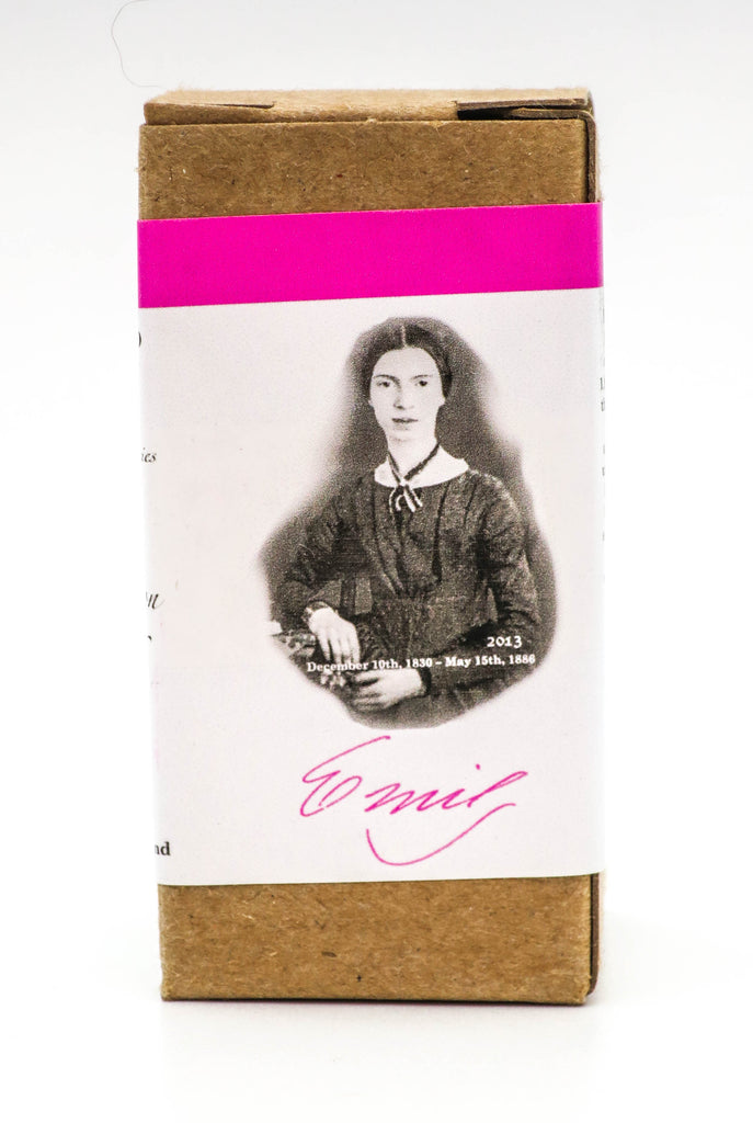 Organics Studio Ink: Master's of Writing Series: Emily Dickinson Bright Pink - Grand Vision Pens UK
