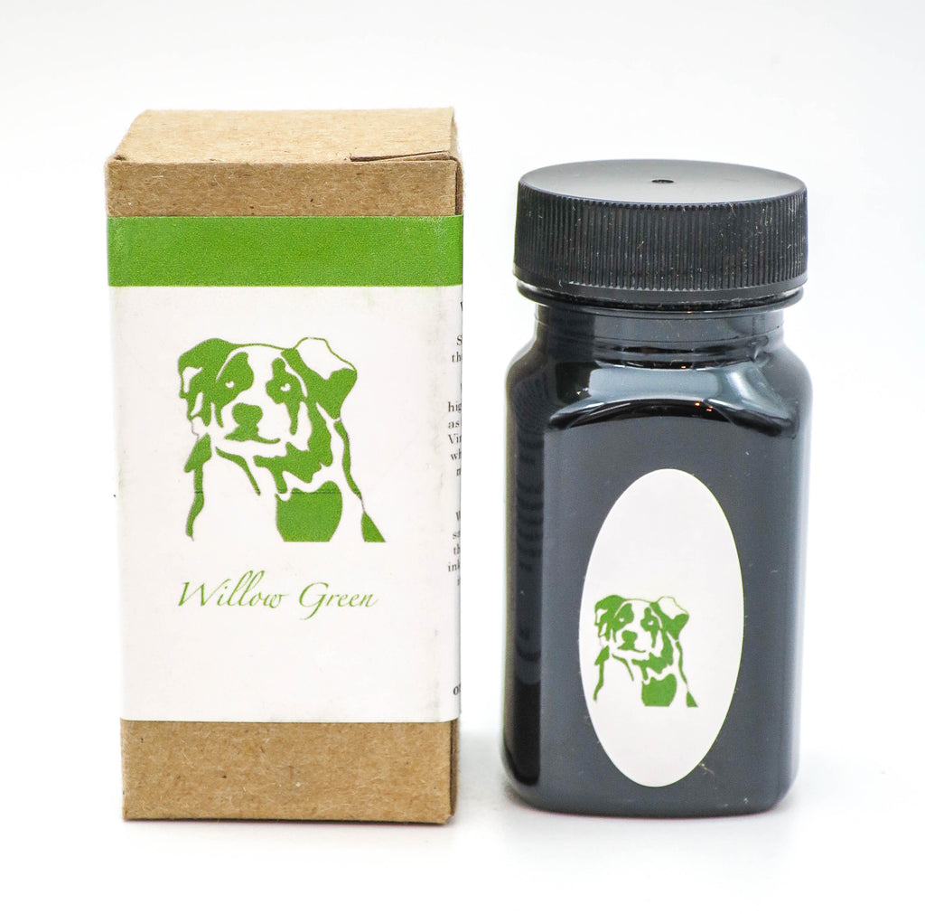 Organics Studio Ink: Vintage Ink Series: Willow Green - Grand Vision Pens UK