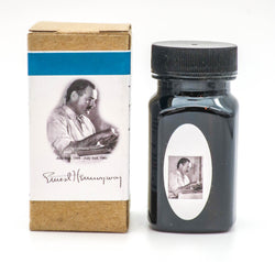 Organics Studio Ink: Master's of Writing Series: Ernest Hemingway Santiago's Sea Blue