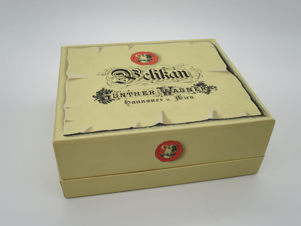 Boxed Limited Edition Pelikan M150 Gunther Wagner Fountain Pen & Ink Box Set - Medium Nib (Near Mint Condition) - Grand Vision Pens UK
