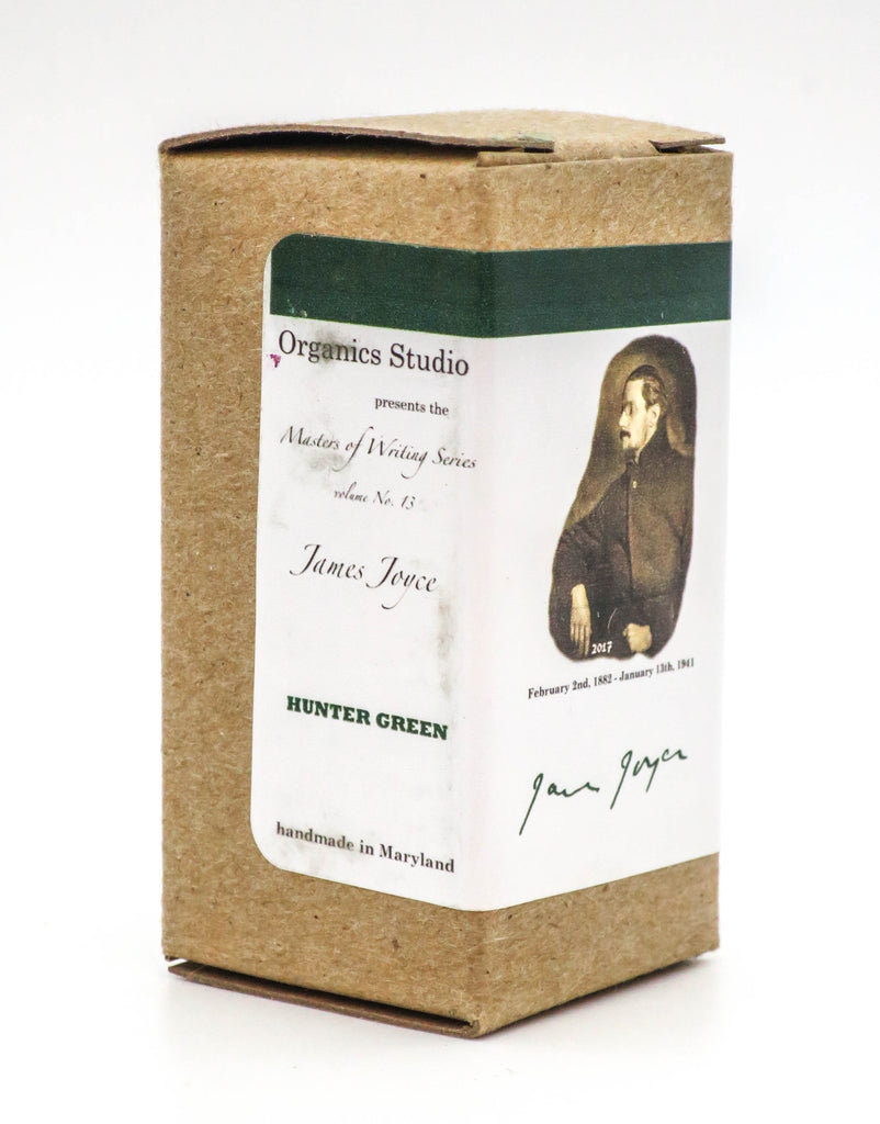 Organics Studio Ink: Master's of Writing Series: James Joyce Hunter Green - Grand Vision Pens UK