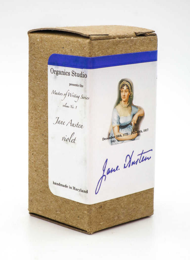 Organics Studio Ink: Master's of Writing Series: Jane Austen Violet - Grand Vision Pens UK