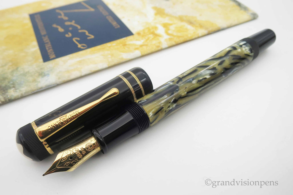 Boxed Mont Blanc Writer's Edition 'Oscar Wilde' Limited Edition Fountain Pen - Fine Nib (Near Mint Condition) - Grand Vision Pens UK