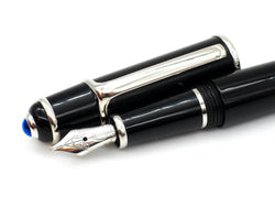 Cartier Diabolo Full Sized Fountain Pen 18k Broad Nib
