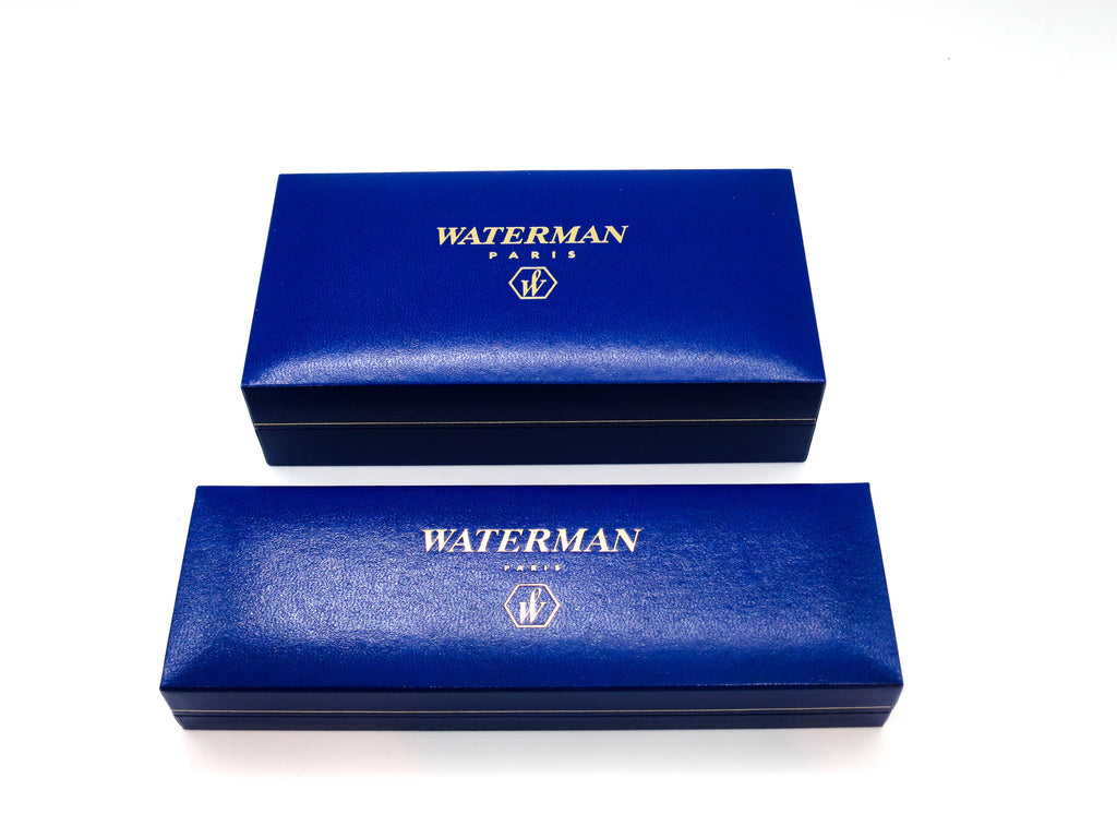 Waterman Le Man 100 Special Edition Sterling Silver Fountain Pen & Ballpoint Pen - Grand Vision Pens UK