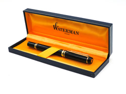Boxed Waterman Le Man 100 Fountain Pen 18k Medium Nib