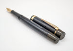 Vintage ONOTO THE PEN Fountain Pen - 14k Gold Semi Flex Nib - Grand Vision Pens UK