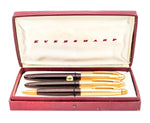 Vintage Eversharp Symphony 707 Luxury Fountain Pen, Ballpoint & Pencil Set - Grand Vision Pens UK