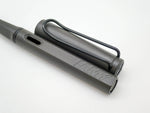 LAMY Safari Charcoal Black Fountain Pen Medium Nib - Grand Vision Pens UK