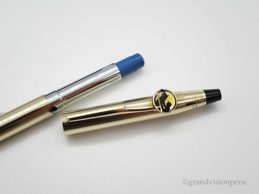 Boxed CROSS 18k Gold Plated Ballpoint Pen Special Edition 'Jockey' Pen (Near Mint Condition) - Grand Vision Pens