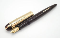 Vintage WAHL Eversharp Skyline Fountain Pen 14k Gold Flex Nib