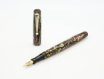 Vintage SWAN Self Filler Fountain Pen 14k Gold Semi Flex nib - Grand Vision Pens UK