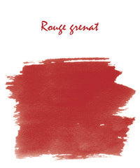 J. Herbin Fountain Pen Ink - Rouge Grenat - 10ml Bottle