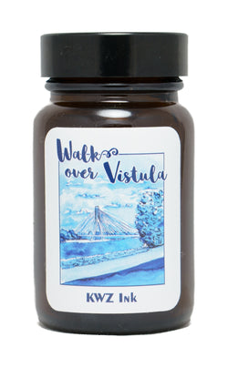 KWZ Inks Standard Fountain Pen Ink - Walk Over Vistula - 60ml Bottle