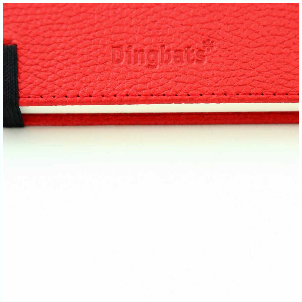 Dingbats* Wildlife Lined A5 Notebook: Red Kangaroo - Grand Vision Pens UK