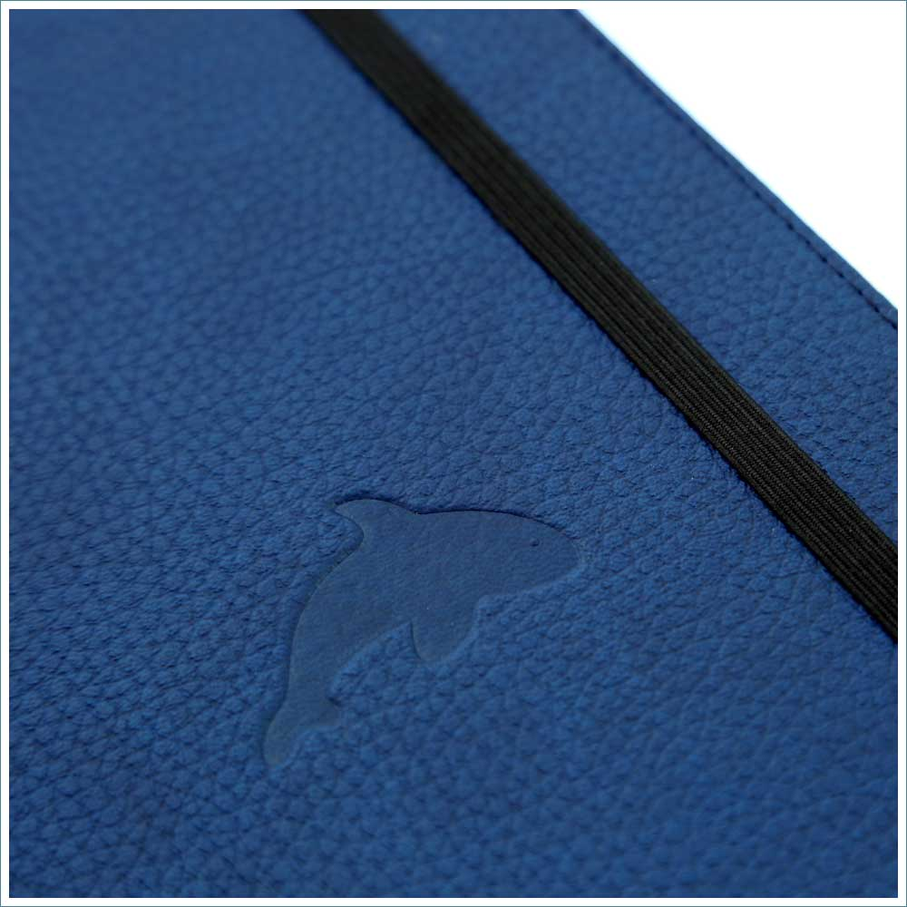 Dingbats* Wildlife Dotted A5 Notebook: Blue Whale - Grand Vision Pens UK