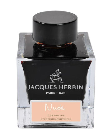 J. Herbin 'Créations d'Artistes' Fountain Pen Ink - Nude by Marc-Antoine Coulon - 50ml bottle