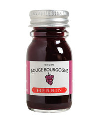 J. Herbin Fountain Pen Ink - Rouge Bourgogne - 10ml Bottle