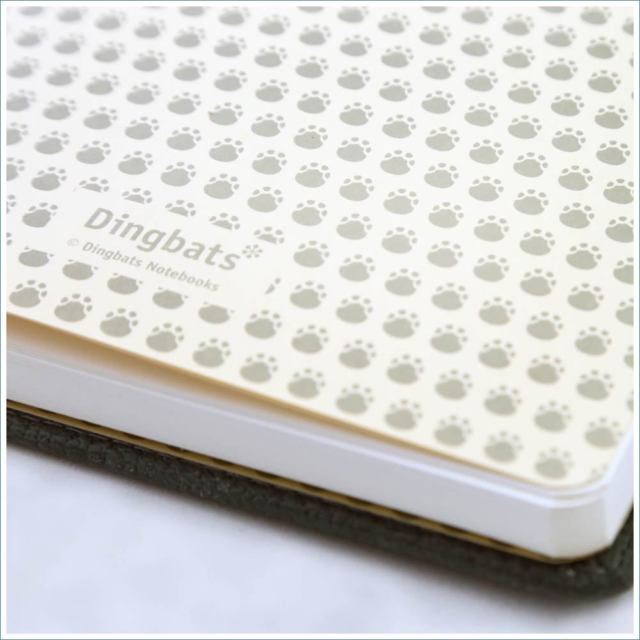 Dingbats* Wildlife Dotted A5 Notebook: Grey Elephant - Grand Vision Pens UK