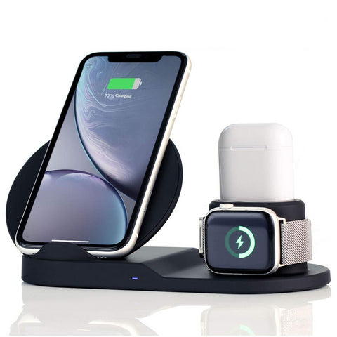 3 in 1 Wireless Charging Station - Hytec Gear