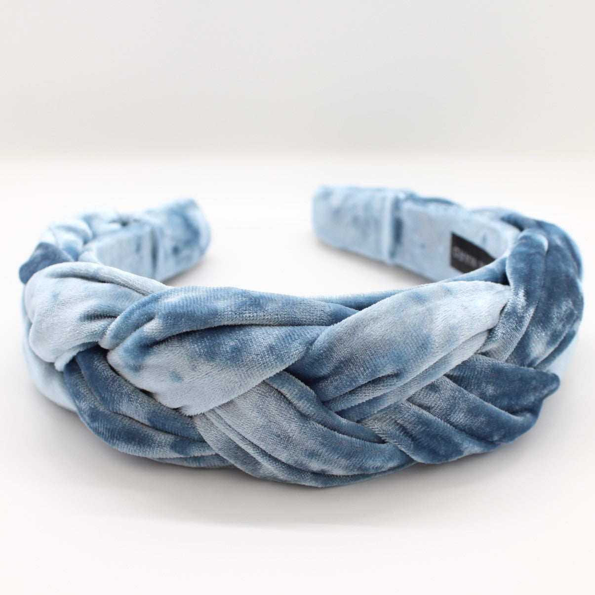 ARKWARD Sky Blue Velvet braided Headband