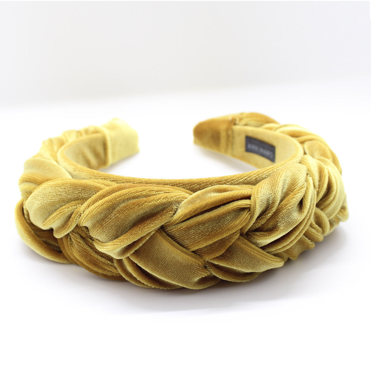 ARKWARD Mustard Braided Headband