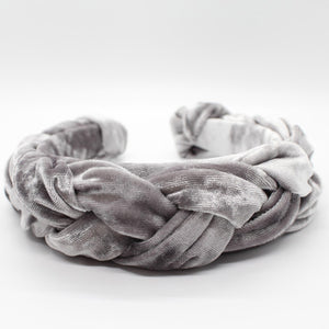 ARKWARD Silver Braided Headband