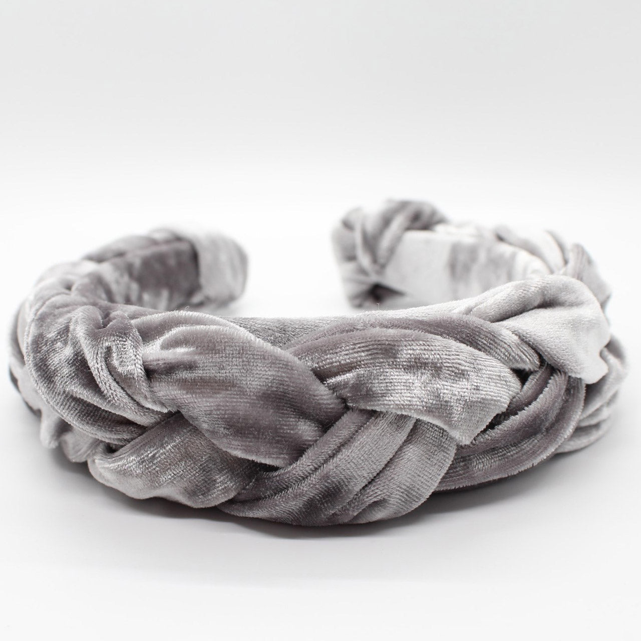 ARKWARD Grey Braided Headband