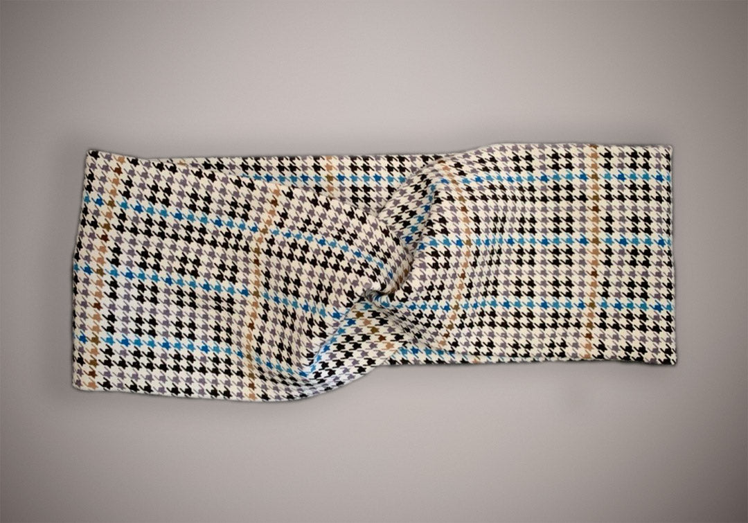 ARKWARD Houndstooth Mix White Headband