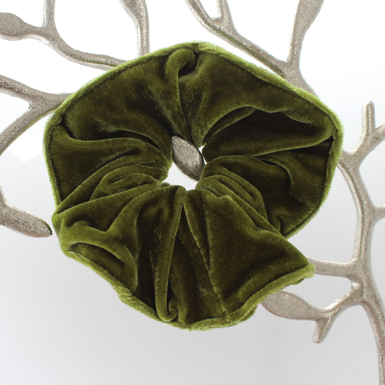 Arkward Olive Green Scrunchies