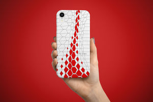Arkward Red Aperture iPhone Case