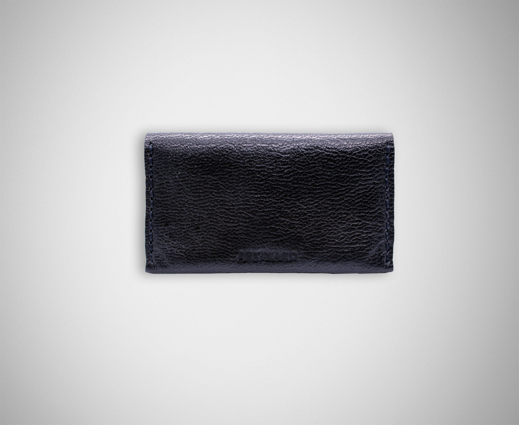 ARKWARD BLACK LEATHER CARD CASE