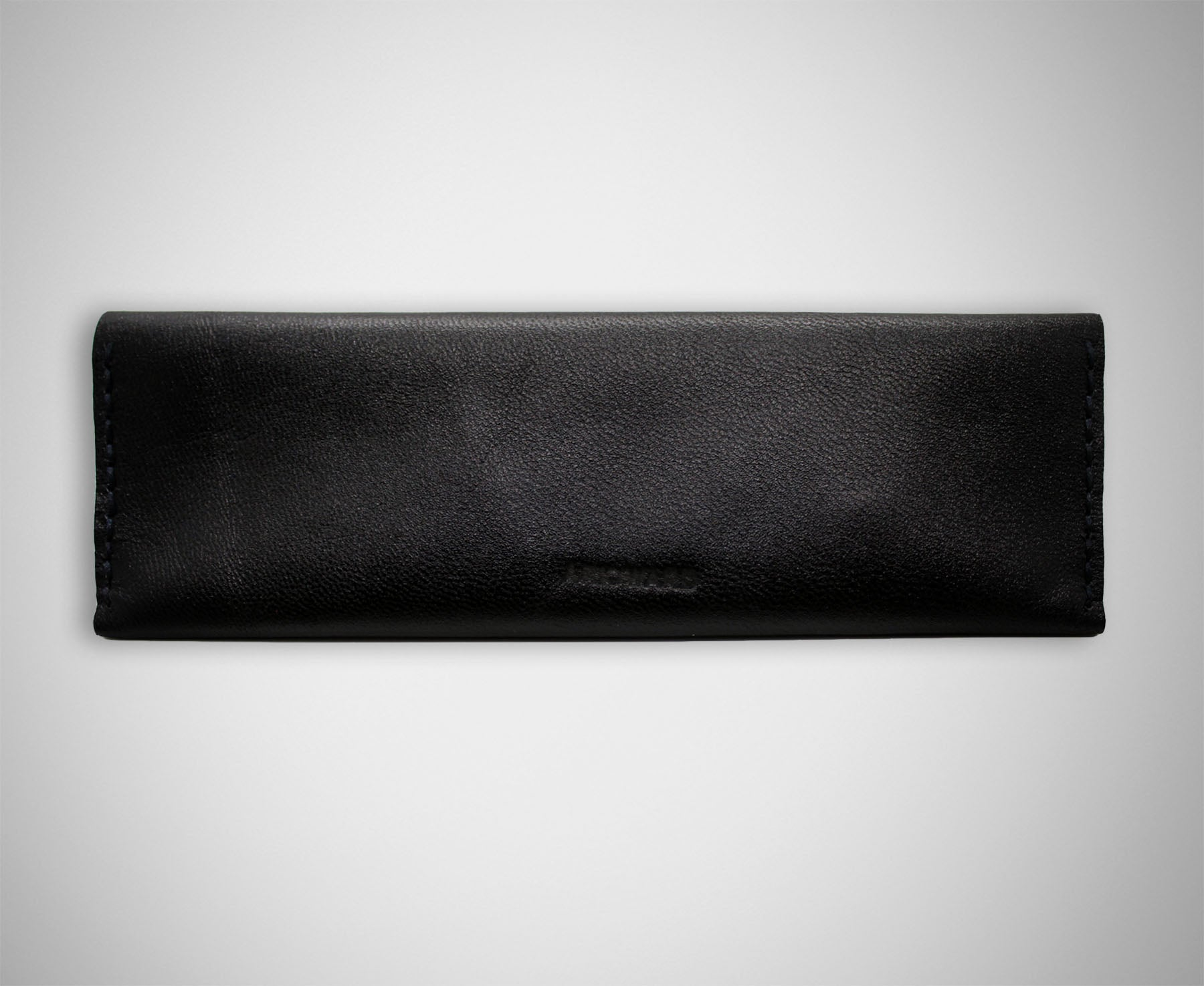 ARKWARD BLACK LEATHER PEN POUCH