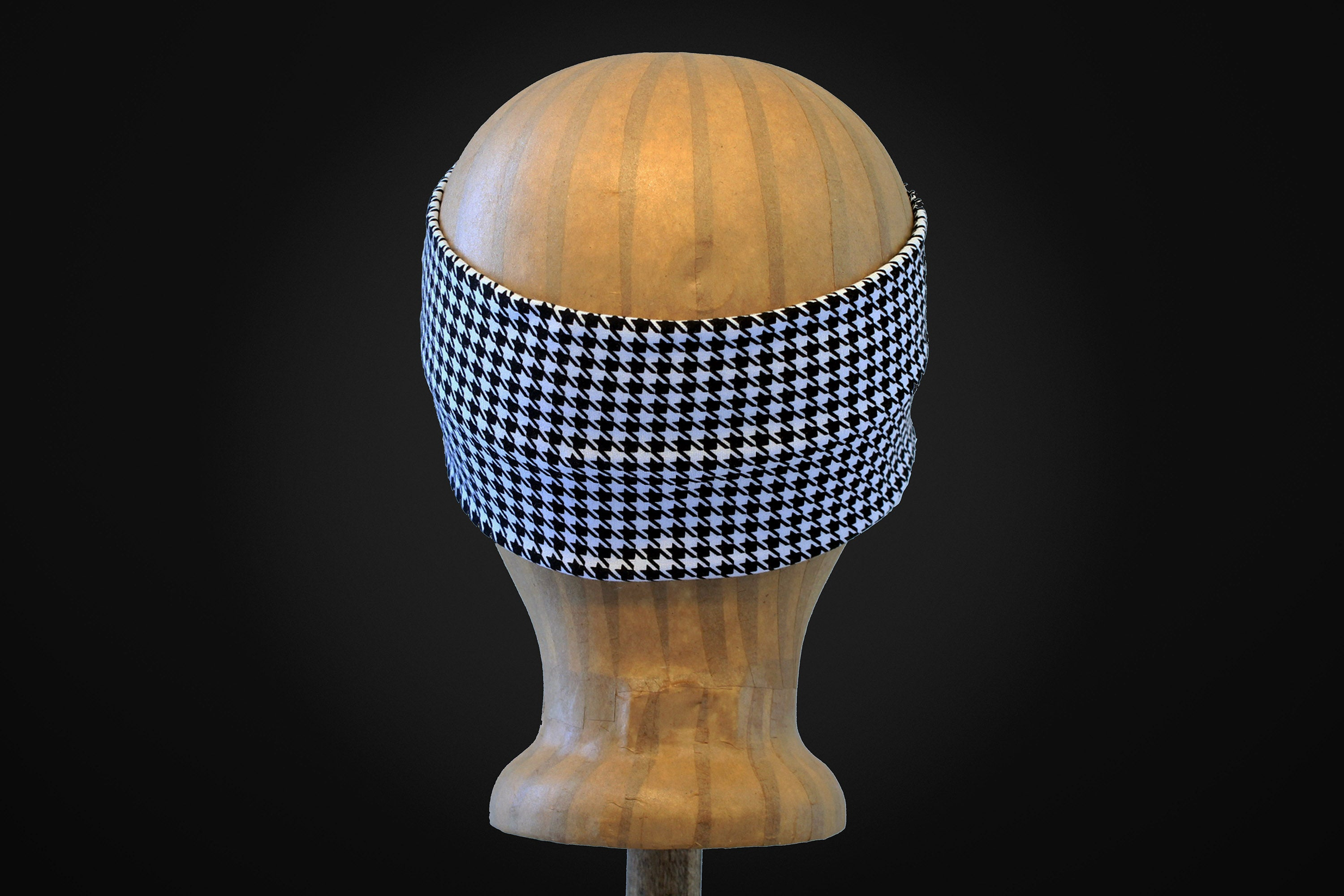ARKWARD Houndstooth Black & White Headband