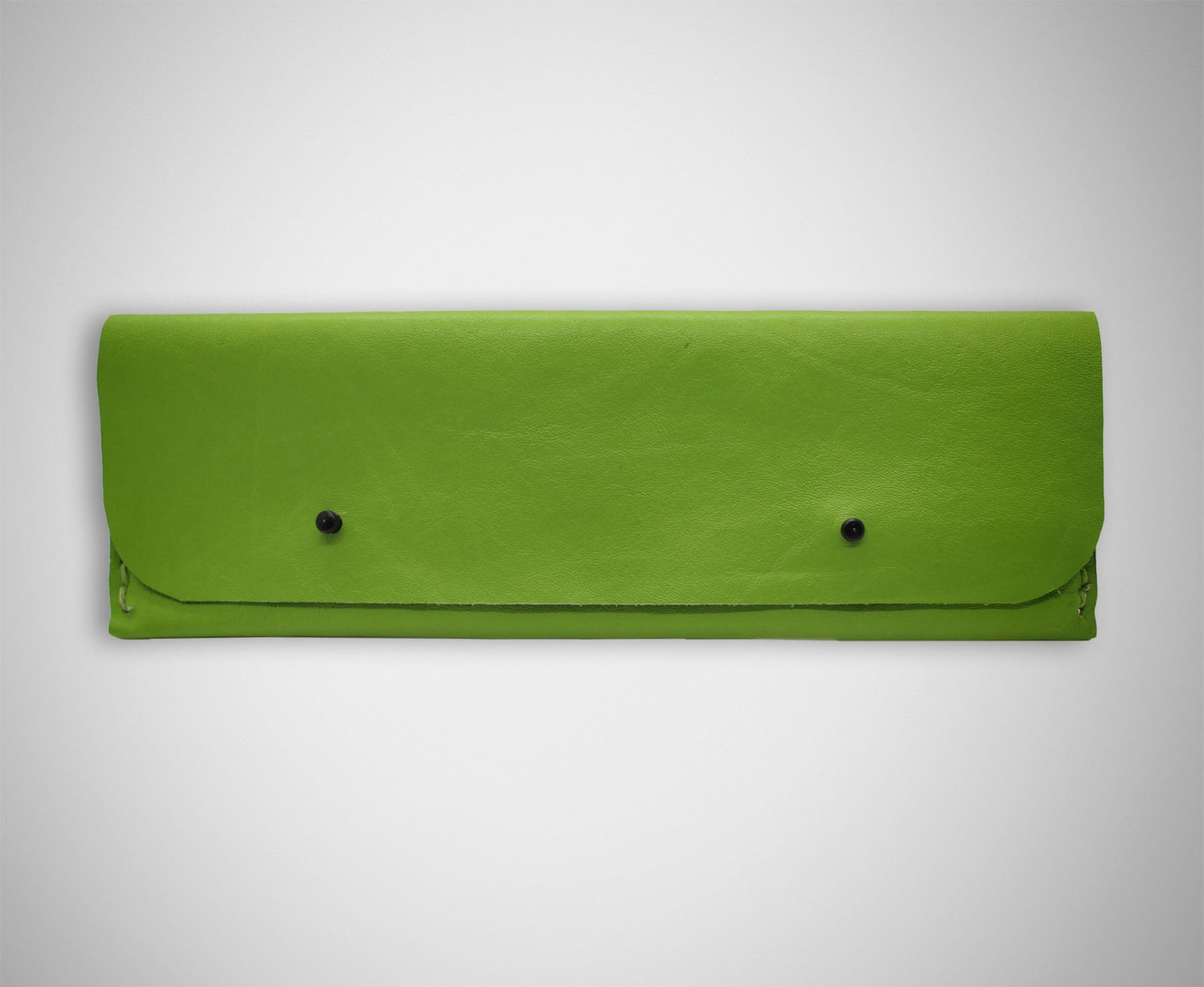 ARKWARD LIME LEATHER PEN POUCH