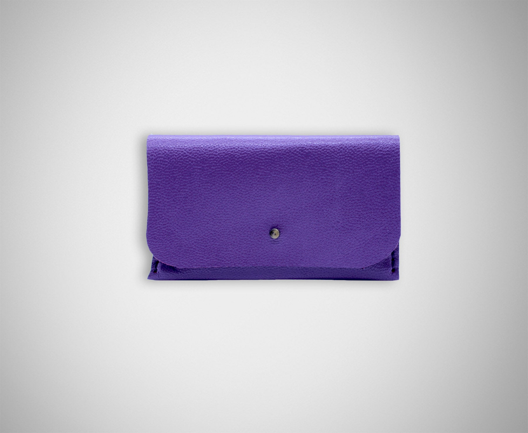 ARKWARD PURPLE LEATHER CARD CASE