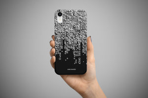 Arkward Black Fall iPhone Case