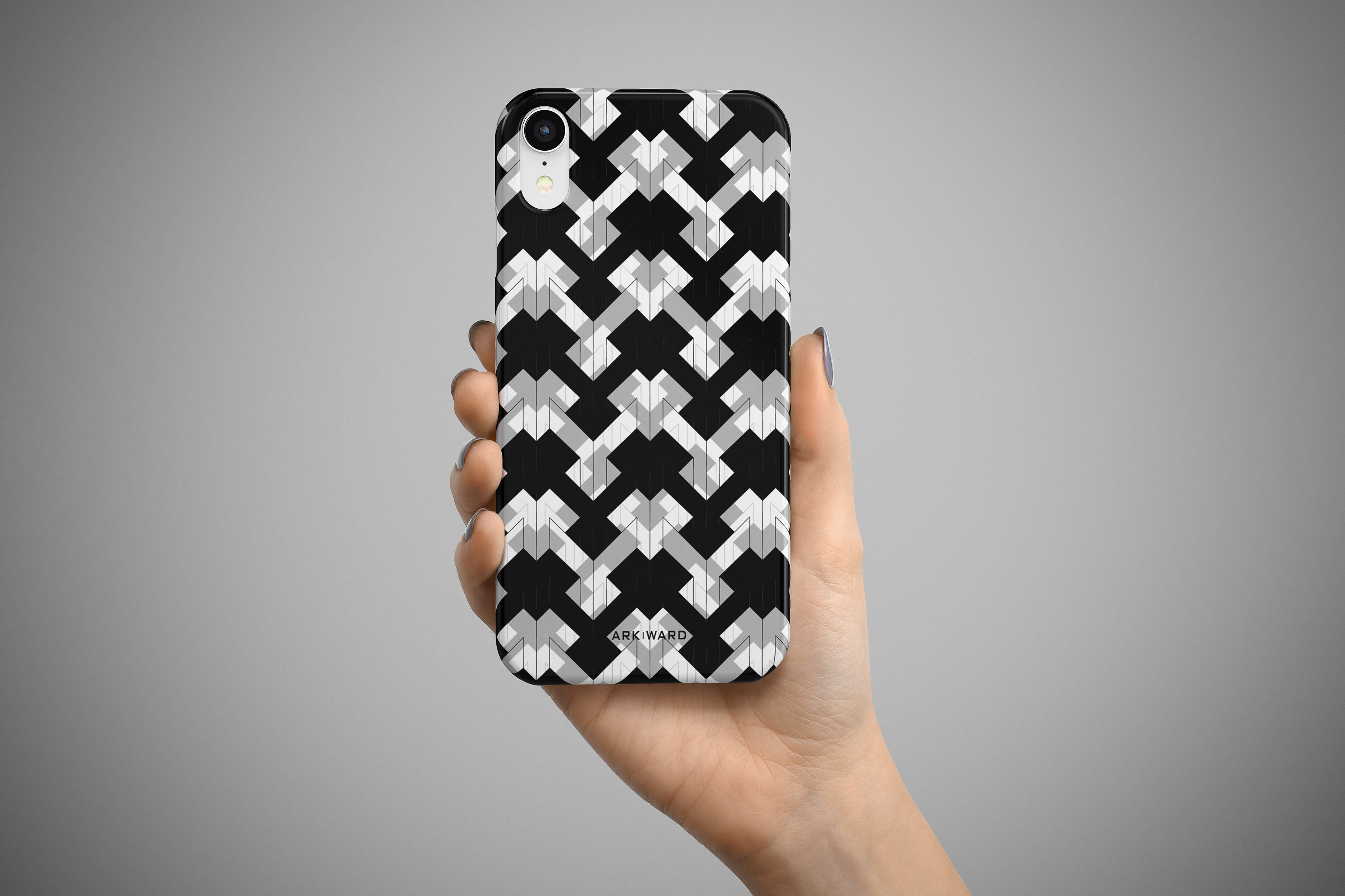 Arkward Flipped I iPhone Case