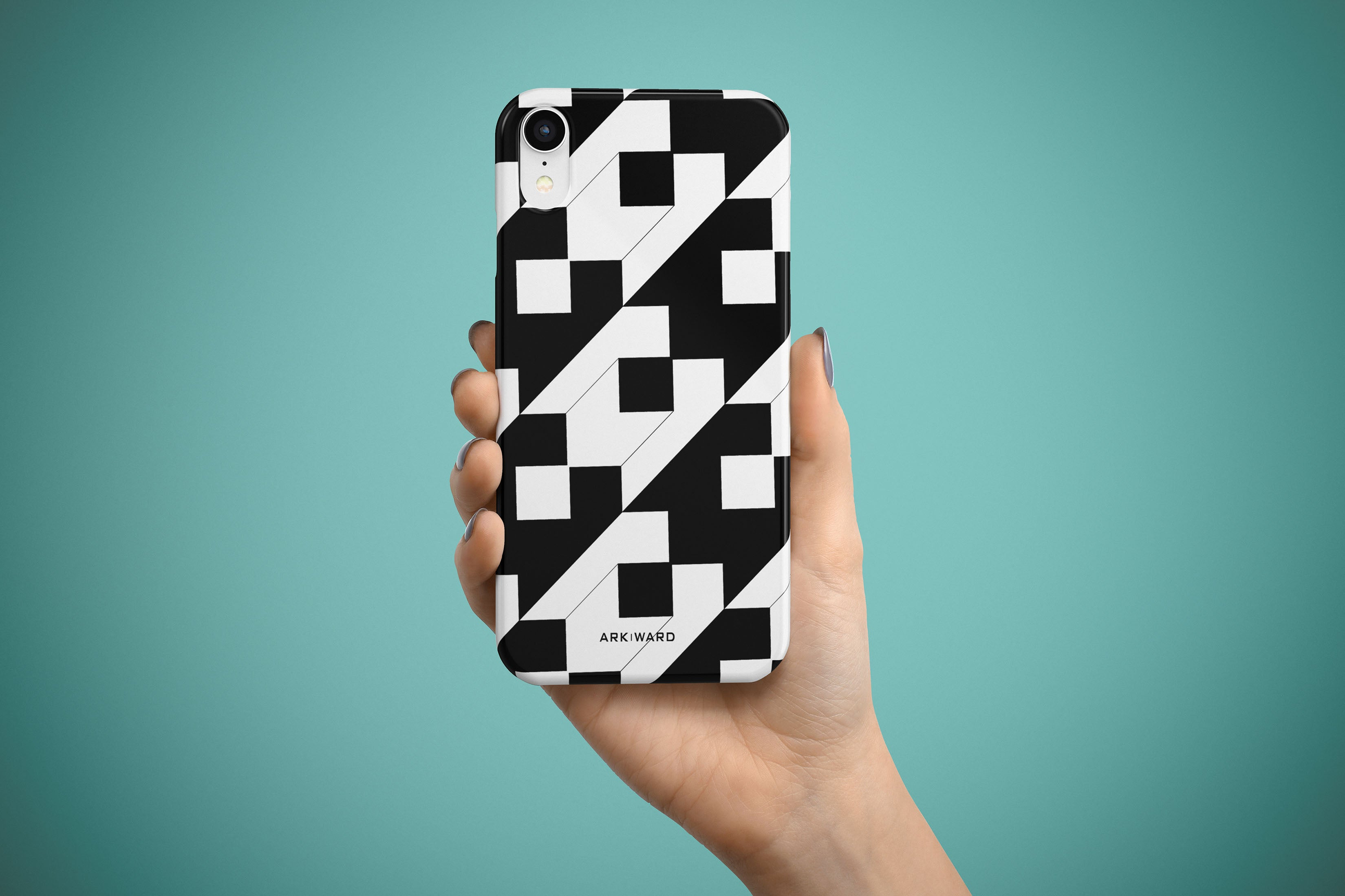 Arkward  Flipped III iPhone Case