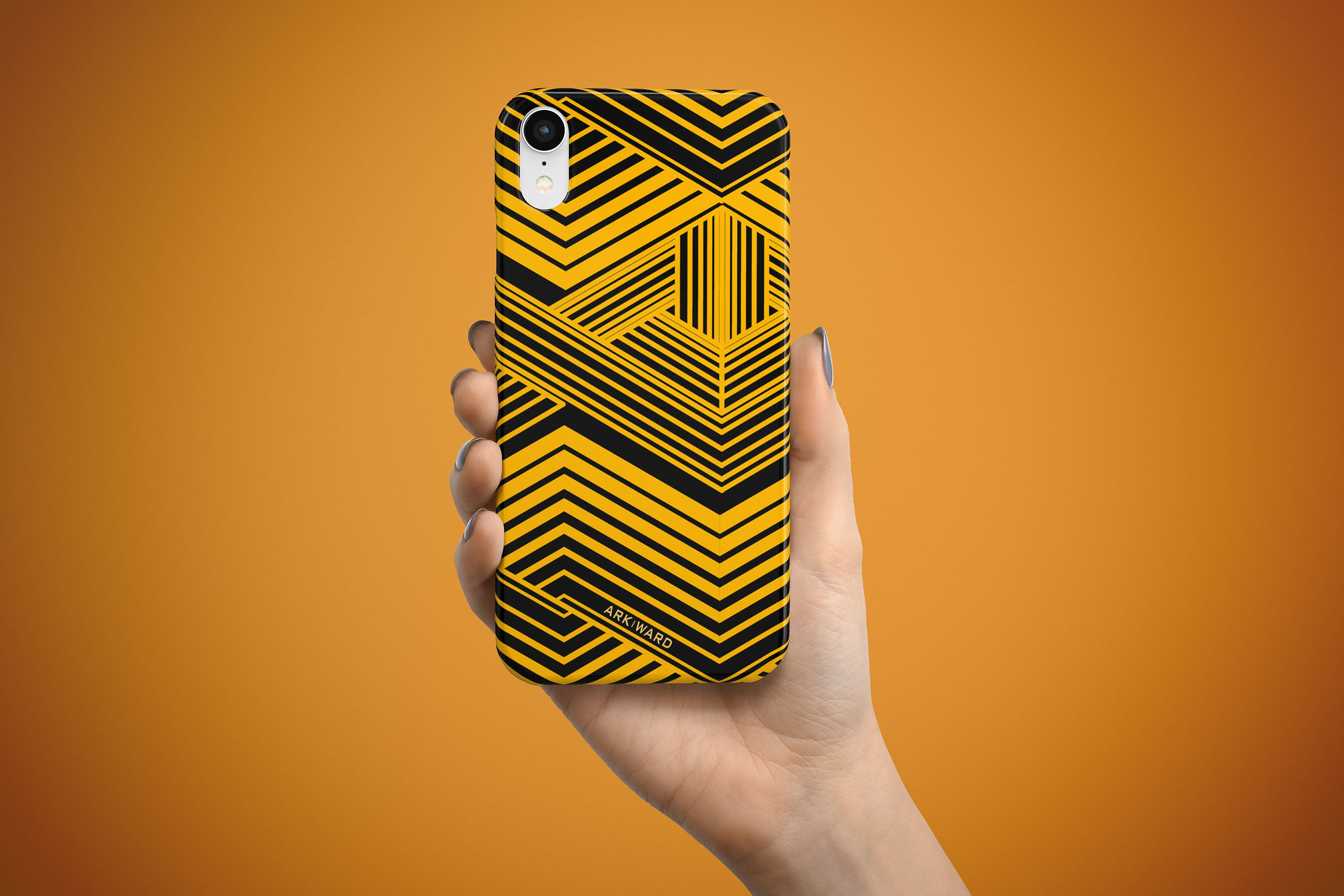 Arkward Yellow Fold iPhone Case
