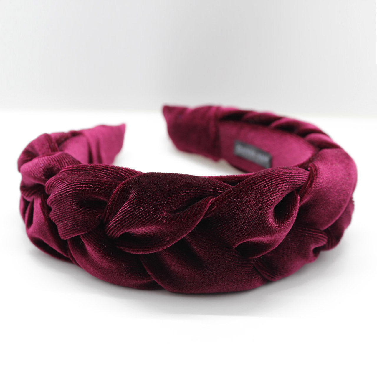 ARKWARD Burgundy Braided Headband