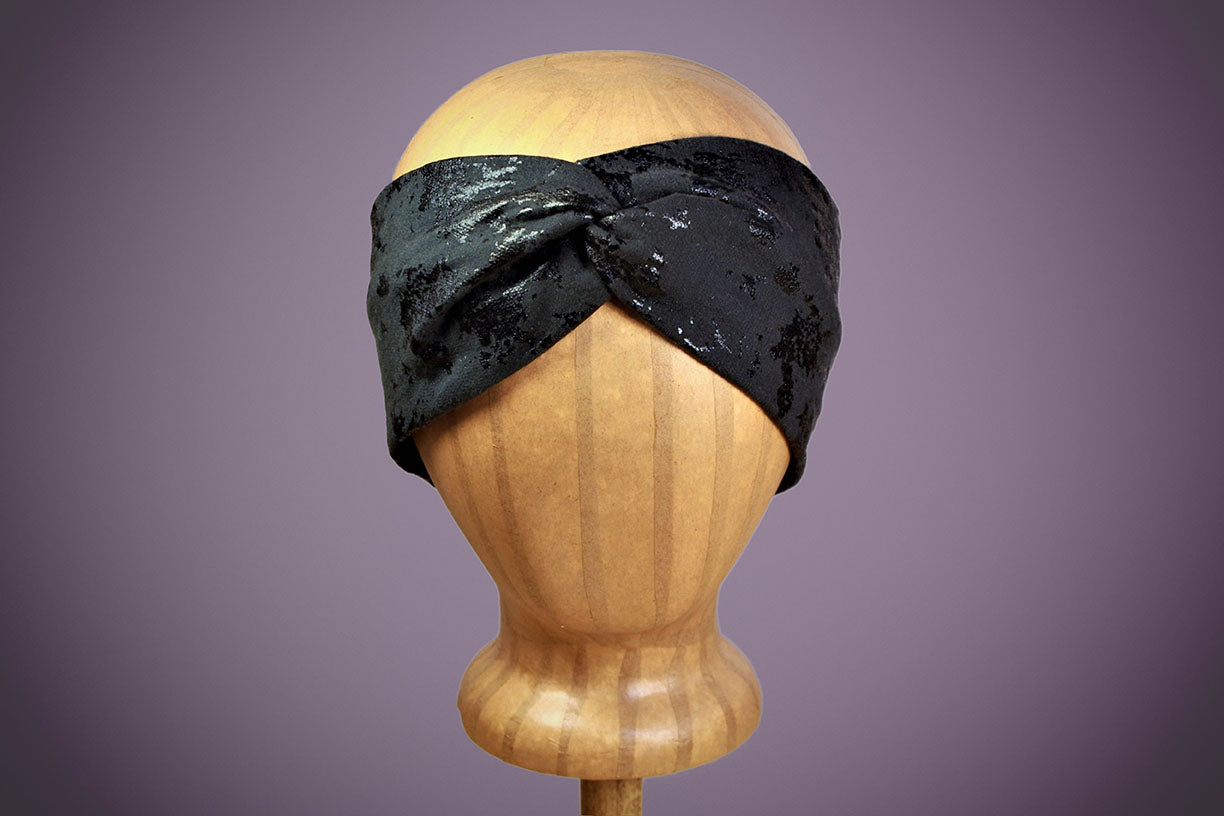 ARKWARD Black Turban Headband